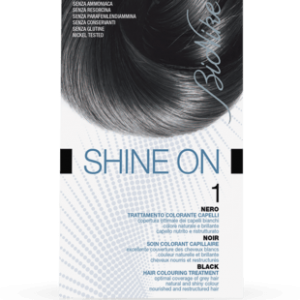 SHINE ON 1 NERO Trattamento colorante capelli