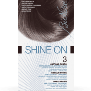SHINE ON 3 CASTANO SCURO Trattamento colorante capelli