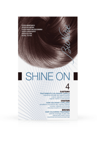 SHINE ON 4 CASTANO Trattamento colorante capelli
