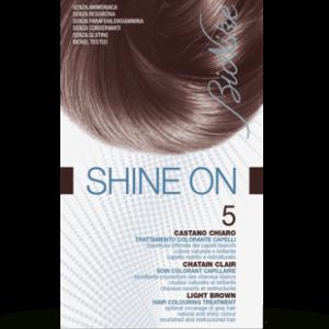 SHINE ON 5 CASTANO CHIARO Trattamento colorante capelli