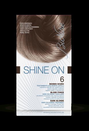 SHINE ON 6 BIONDO SCURO Trattamento colorante capelli