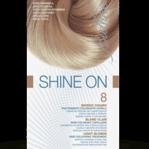 SHINE ON 8 BIONDO CHIARO Trattamento colorante capelli