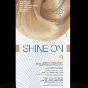 SHINE ON 9 BIONDO CHIARISSIMO Trattamento colorante capelli