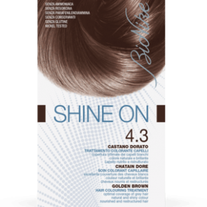 SHINE ON 4.3 CASTANO DORATO Trattamento colorante capelli