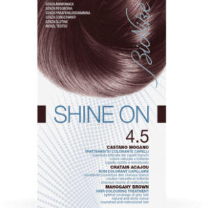 SHINE ON 4.5 CASTANO MOGANO Trattamento colorante capelli