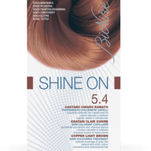SHINE ON 5.4 CASTANO CHIARO RAMATO Trattamento colorante capelli