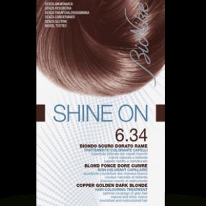 SHINE ON 6.34 BIONDO SCURO DORATO RAME Trattamento colorante capelli