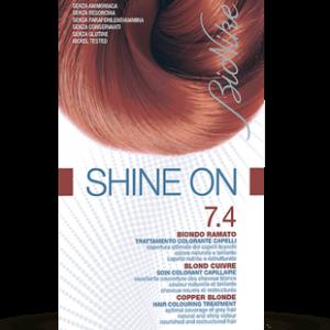 SHINE ON 7.4 BIONDO RAMATO Trattamento colorante capelli