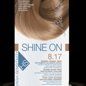 SHINE ON HS 8.17 BIONDO CHIARO TEAK Trattamento colorante capelli