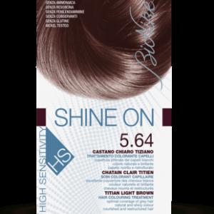 SHINE ON HS 5.64 CASTANO CHIARO TIZIANO Trattamento colorante capelli