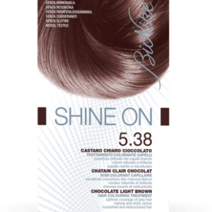 SHINE ON 5.38 CASTANO CHIARO CIOCCOLATO Trattamento colorante capelli