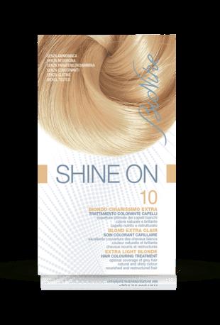 SHINE ON 10 BIONDO CHIARISSIMO EXTRA Trattamento colorante capelli