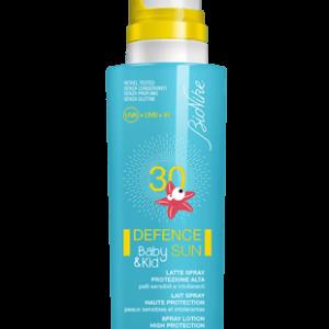 DEFENCE SUN BABY&KID - LATTE SPRAY 30 Protezione alta
