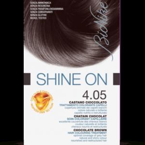 SHINE ON 4.05 CASTANO CIOCCOLATO Trattamento colorante capelli